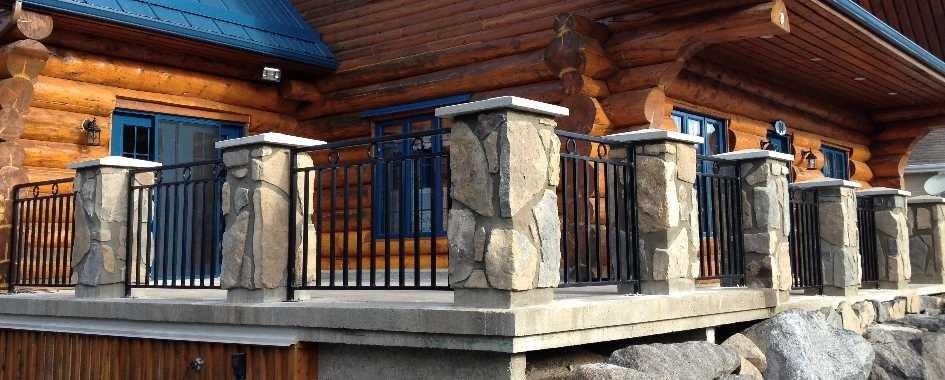 Conception de rampe d'escalier